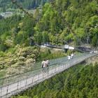 谷瀬釣り橋