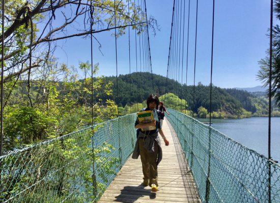 津風呂吊り橋