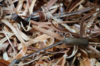 板を削る道具「セン」